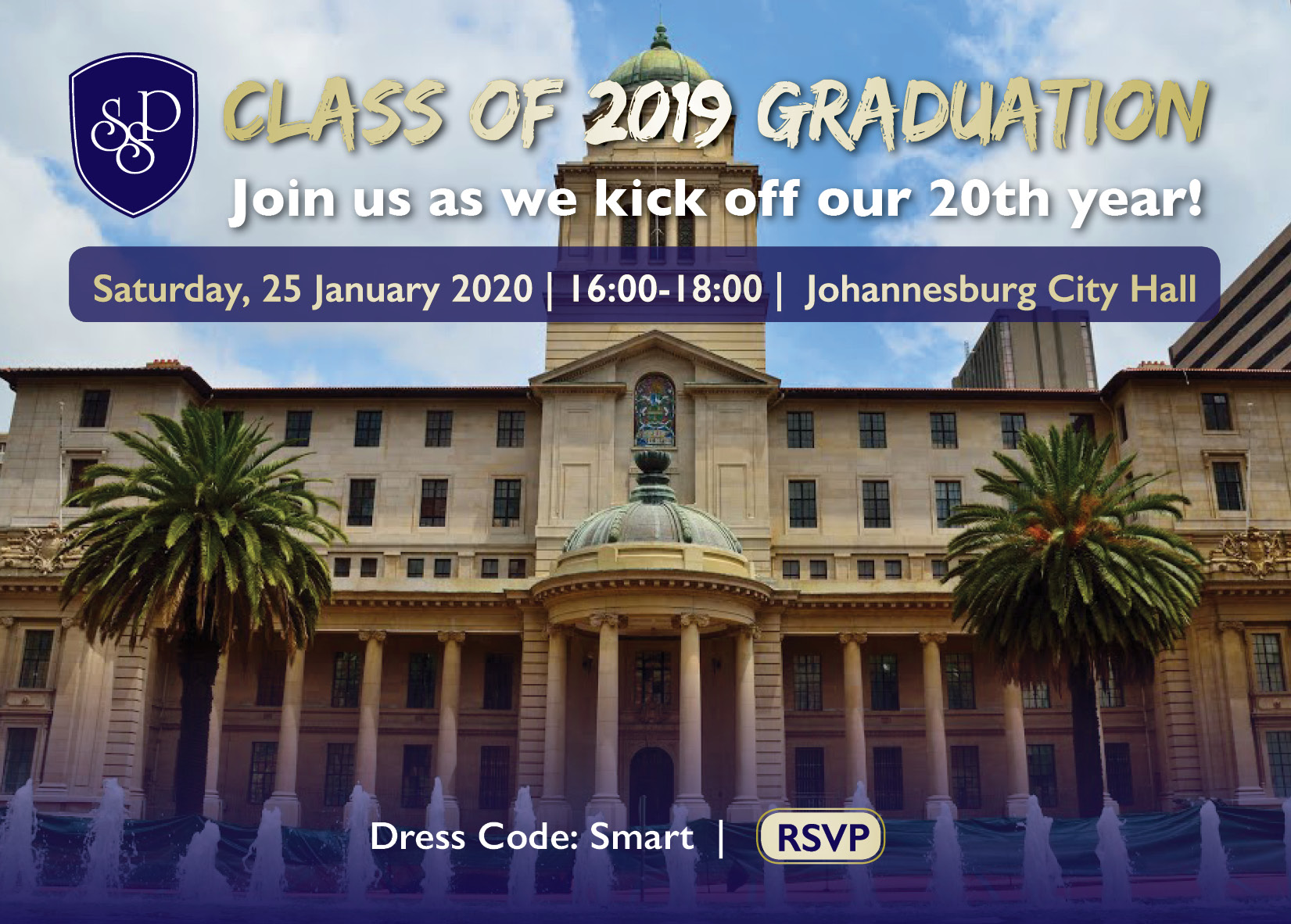 Join us for the SSP Class of 2019 Graduation!