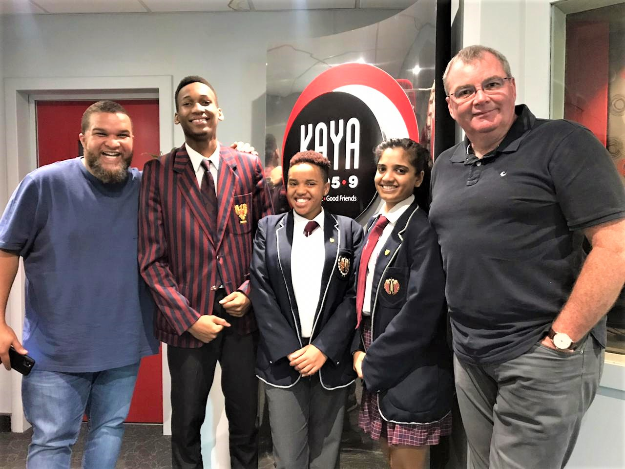 Listen to our top three IEB Matric Scholars interviewed on radio station Kaya FM