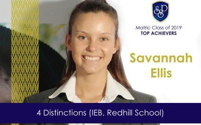 SSP IEB Matric Scholars Savannah, Katlego and Yonaka have 4 distinctions